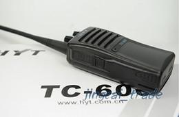Wholesale Hyt Way Radios - <3pcs lot DHL Freeshipping + 5Watts +NI-MH battery + long range TC-600 two way radio > HYT CB radio