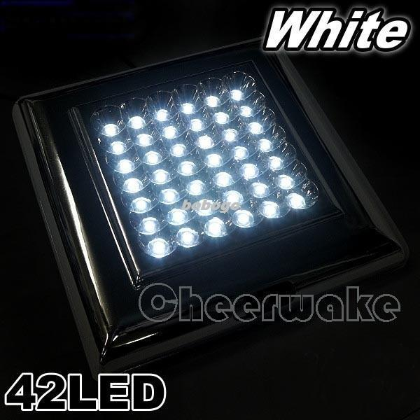 Replace Boat Lights With Led: 2019 12V 42 LED Interior Cabin Light Boat Caravan Trailer