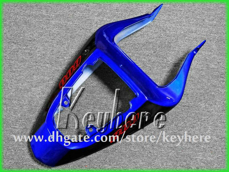 Personalizar kit de carenagem ABS plástico para SUZUKI GSX R600 R750 01 02 03 GSXR 600 2001 2002 2003 k1 carenagem G3h novas peças da motocicleta azul preto