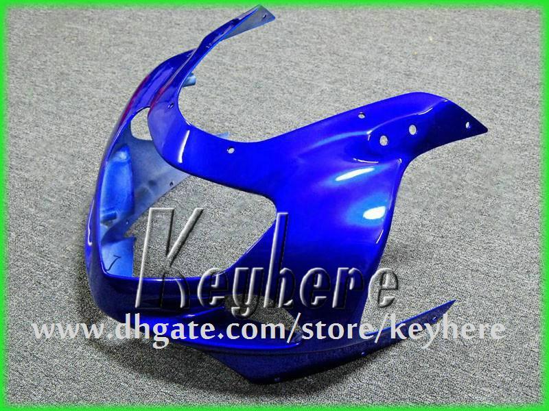 Personaliseer ABS Plastic Fairing Kit voor Suzuki GSX R600 R750 01 02 03 GSXR 600 2001 2002 2003 K1 BIJGELIJKHEIDS G3H Nieuwe Black Blue Motorcycle Onderdelen