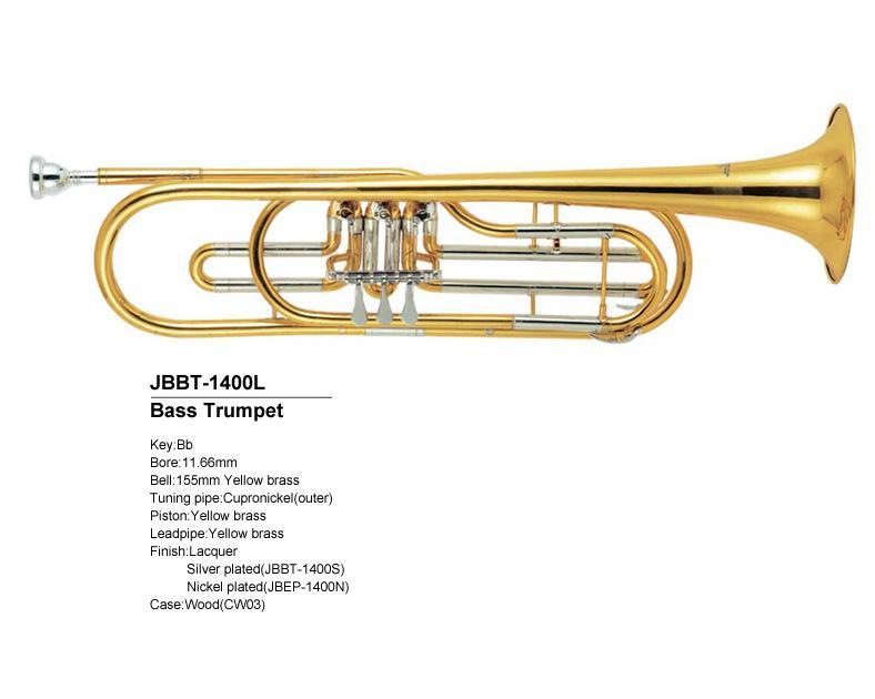JBBT-1400 La trompette basse Sib JINBAO