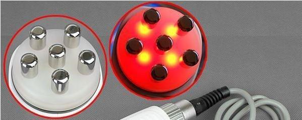 3 in 1 cavitatie RF-afslankmachine met 40 kHz cavitatie + 2 stks van 5 MHz RF-probes