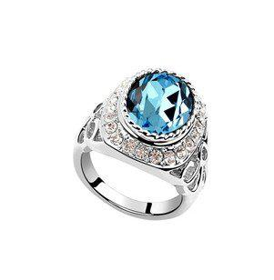 48edfa6d9 2019 Hot Sale 18k White Gold Plated Jewelry Austrian Crystal Ring Venus  Charm Rings Make With Swarovski Elements 6558 From Sbchf123, $7.84 |  DHgate.Com