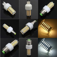 Wholesale E27 High Lumen - Retail E27|G9|E14 LED Corn Bulb 3528 SMD 120 LED Light 7W 360 degree 700 Lumen High Power Home Lamp Energy lights lighting on sales