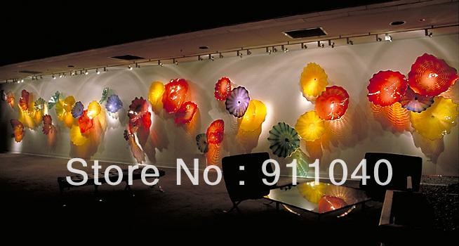100 hand blown glass ceul certificate chihuly glass art blown glass wall art and decor sale from eccoguo dhgatecom