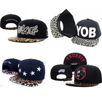 Best Selling Nice Adjustable Leopard Collection Baseball Snapback Hüte Hysteresen Caps Snap zurück Cap Hut viele Designs Qualität