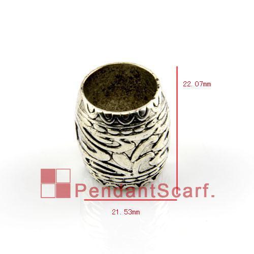 50 UNIDS / LOTE, Caliente de La Manera Collar de Joyas DIY Bufanda Colgante Plástico CCB Diapositiva Sosteniendo Tubo Encanto Fianzas Accesorios, Envío Gratis, AC0159A