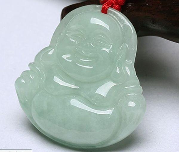 Laughing buddha jade pendant female models pendant 2018 from laughing buddha jade pendant female models pendant aloadofball Images