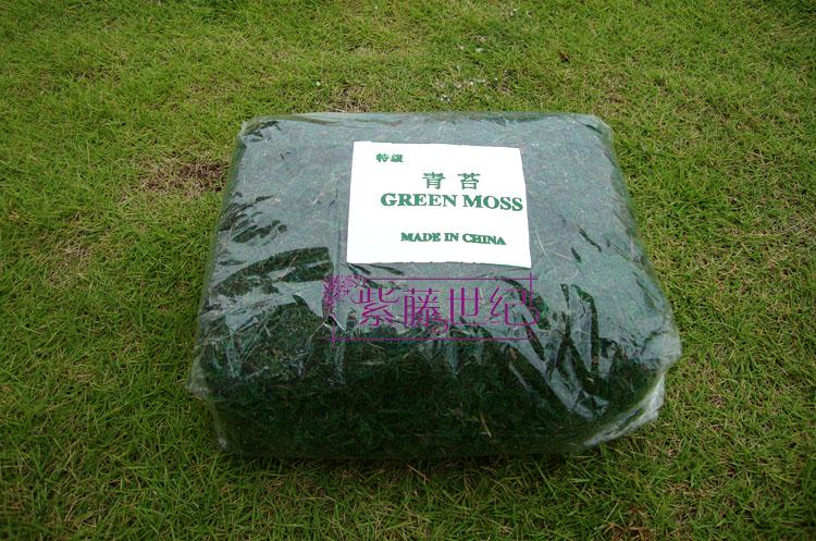 ارتفاع محاكاة الأخضر الطحلب زهرة اصطناعية النباتات الخضراء حديقة ديكور 300g / الحرة الشحن
