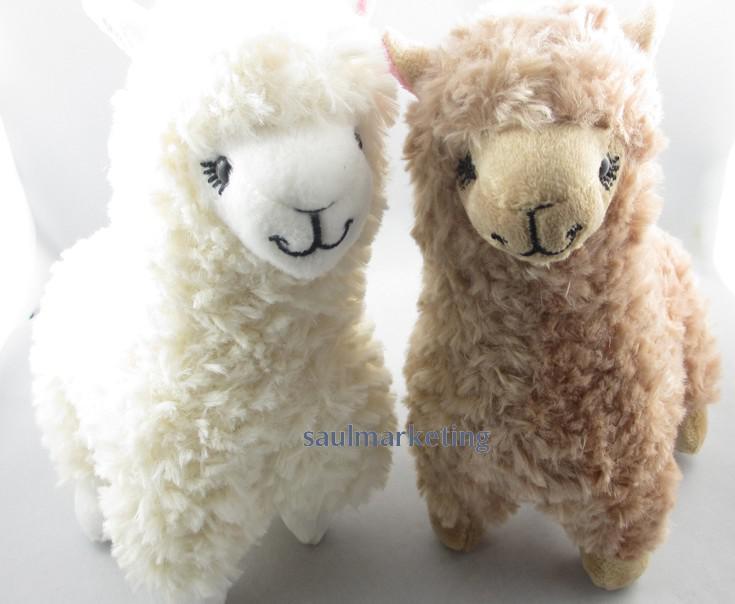 2019 2 X Cute Alpaca Plush Toys Camel Cream Llama Stuffed