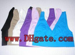 Wholesale Comfort Sets - CPA ! 3pcs HOT Bra Set,Seamless Pullover V-neck,Wide Shoulder Straps Total Comfort Guaranteed