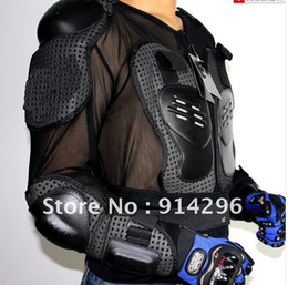 Wholesale Motorcycle Full Body - Full Body Armor Motorcycle Jacket Spine Chest racing cycling biker armour Armor Motor Motocross protector Motorbike Jacket M L XL XXL XXXL