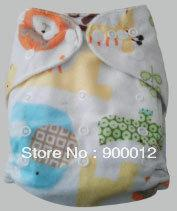 Sell New Special Colors Minky 10 pcs Baby Infant Cloth Diapers Without Inserts Nappy Covers
