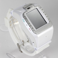 Wholesale Quad Band Android Inch - HOT 1.4 inch HD LCD Touch Screen N388 Watch Quad-band Bluetooth 1.4 Inch Touch Screen Single Sim Card Watch Cell phone Free Shipping