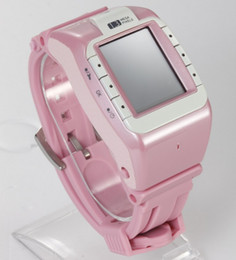 Wholesale Mp3 Touch Watch - HOTTEST 1.4 inch HD LCD Touch Screen N388 Watch Bluetooth Single Sim Card Watch Watch Mobile Black Pink White Color