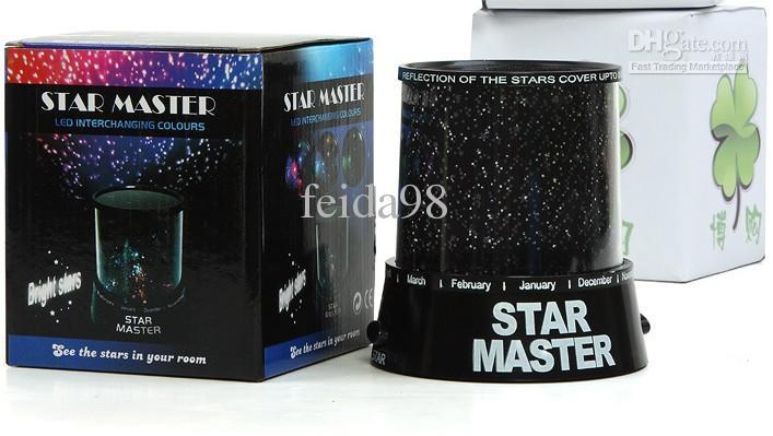 Cosmos colorés étoiles laser-projecteur Star Projecteur Lampe LED Veilleuse lanterne cadeau romantique001