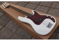 Wholesale Deluxe Bass - Precision Deluxe US new arrival Precision 4 String Bass Guitar In white