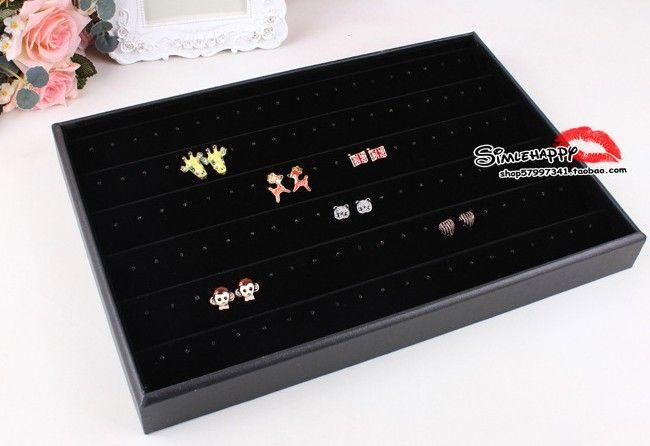 Jewelry Earrings Tray Display Jewelry Studs Trays Display Holder cheap jewelry showcase case Jewelry Earrings holder PB1