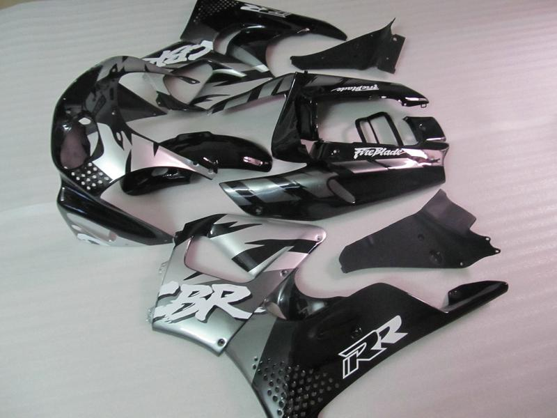 H77 FIT VOOR HONDA 1992 1993 1994 1995 CBR900RR 893 CBR 900RR 92 93 94 95 GRIJS MOTORFIETS ABS FACKING