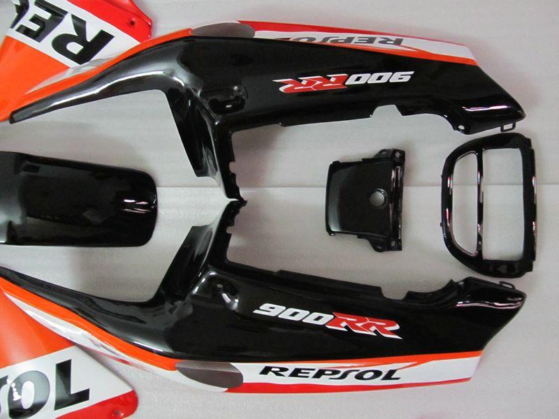 H76 Fit para Honda 1992 1993 1994 1995 CBR900RR 893 CBR 900RR 92 93 94 95 REPSOL ABS carenagem barata