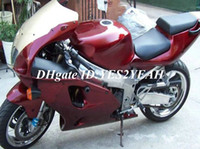 Wholesale 1996 Zx7r Red - ABS Fairing kit for KAWASAKI Ninja ZX-7R ZX7R 1996 1999 2003 ZX 7R 96 99 00 01 02 03 hot red Fairings set
