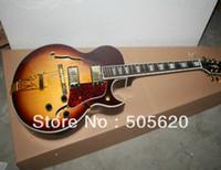 Wholesale Hot Shop Customs - Custom Shop Vintage Sunburst L-5 Classic Jazz Guitar Wholesale Free Shipping HOT