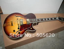 Wholesale Hollow Body Jazz Guitars - Custom Shop Vintage Sunburst L-5 Classic Jazz Guitar Wholesale Free Shipping HOT