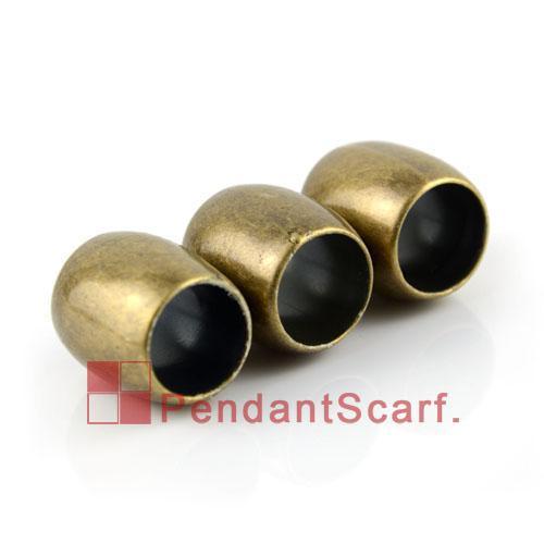 / mode bricolage bijoux collier écharpe pendentif constatations Bronze antique en plastique CCB glissière tenant tube charme, livraison gratuite, AC0146