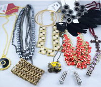 Wholesale Vintage Rhinestone Cross Necklace - Europen Style Fashion Vintage Punk Jewelry Pendants Mix Necklace Sold By Weight 500g lot WT4