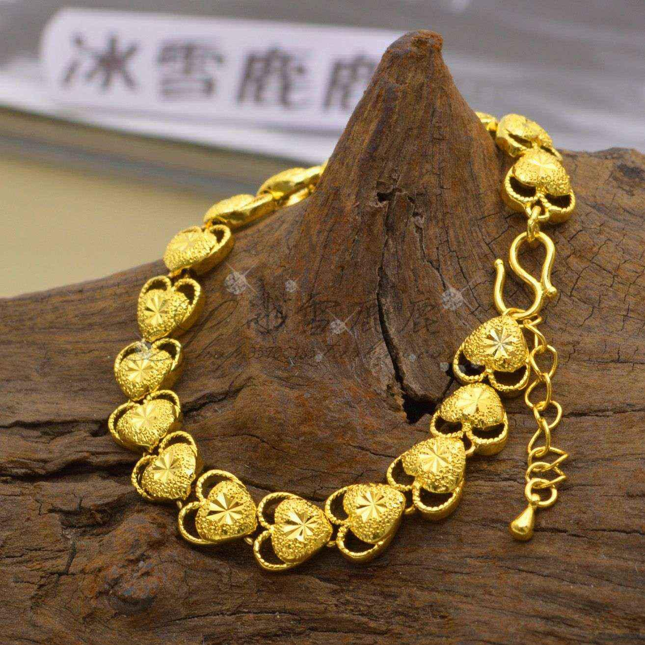 gold ireland yellow bracelet genuine northern beautiful