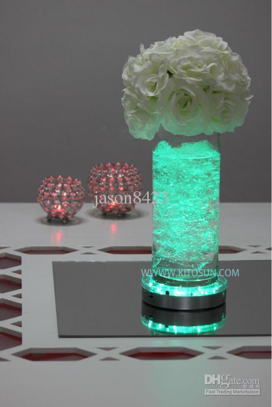 See larger image - Smd5050 6flower Vase Light Base For Wedding Centerpiece Decoration