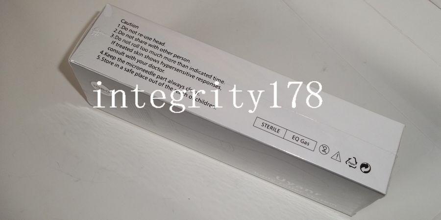 mini ordine 20 pz di 1080 Titanium ago Body Derma Roller, titanio dermaroller, rullo di bellezza della pelle