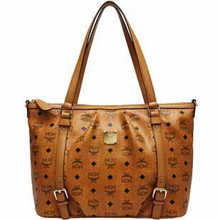 2013 New Mcm Style Handbags Women One Shoulder Bags Brown Beige ...