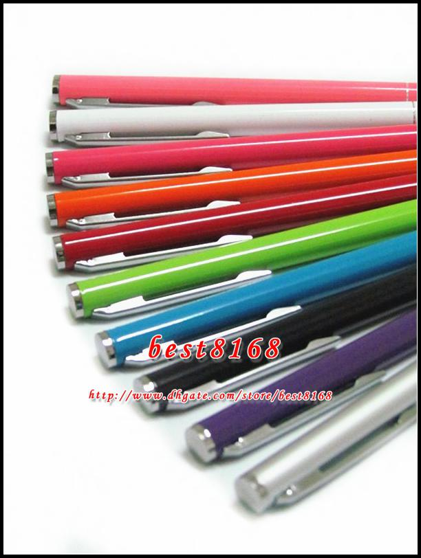 Bling Kapasitif Dokunmatik ekran kalem stylus renkli Iphone 7 7 p 5 5 S SE 6 6 S 4.7 artı 5.5 Samsung galaxy S7 S4 S5 S6 kenar not 4 5 500 adet