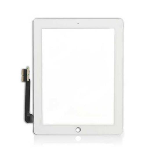 100% novo ipad 3 tablet pc touch screen painel digitador + cabo flex
