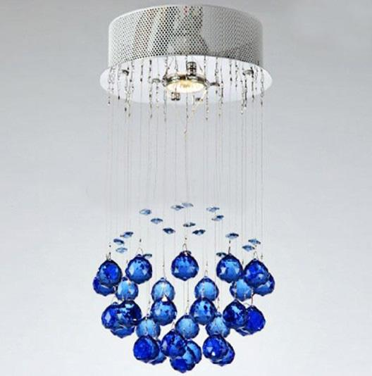 Hot Sale Modern Fashion Gold Green Blue K9 Crystal Pendant Light ...