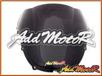 Wholesale Double Honda Cbr - Addmotor Windshield For Honda CBR600F4 CBR 600 F4 1999 2000 99 00 Hot Sale Double Arc Black Windscreen WS1109
