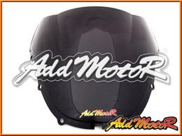 Wholesale 99 Honda Cbr F4 - Addmotor Windshield For Honda CBR600F4 CBR 600 F4 1999 2000 99 00 Hot Sale Double Arc Black Windscreen WS1109