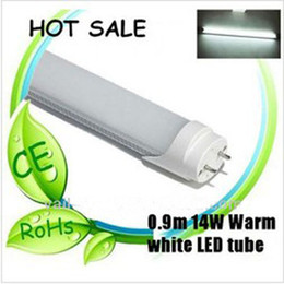 Wholesale T8 14w - Top Quality Best Price T8 LED Tube Light Lamp 14W 3 Feet 900mm White 85-265V CE RoHS Approved
