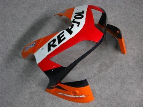 Moldeo por inyección OEM Carenados REPSOL azul marino naranja para HONDA CBR600RR 2003 2004 Kit de carenado completo CBR 600RR CBR600 F5 03 04