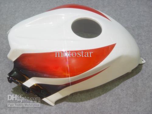 Jogo preto branco vermelho feito sob encomenda da carenagem da modelagem por injecção PARA CBR600RR F5 2007 2008 CBR 600 RR 07 08 CBR600