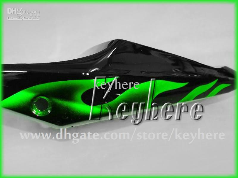 Kit carena custom SUZUKI GSXR 600 04 05 GSX R600 R750 2005 2005 K4 Carrozzeria GSXR600 GSXR750 GSXR750 carrozzeria fiamme Green G3o