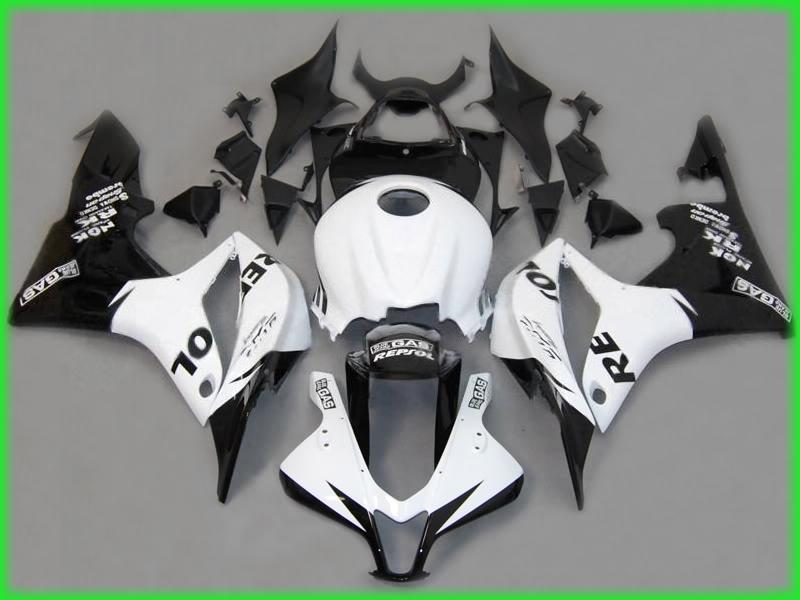 Repsol Injection Mold ABS Fairing Kit för Honda CBR600RR 2007 2008 CBR 600RR CBR600 F5 07 08