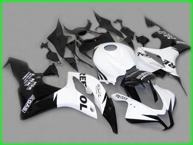 REPSOL Wtrysk Mold ABS Zestaw dochodów do Honda CBR600RR 2008 CBR 600RR CBR600 F5 07 08