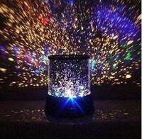 Wholesale Projector Constellations - Nightlight The Sky Star Constellation Projector LED Star Master Sound Asleep Lamp Night Light Free Shipping G614