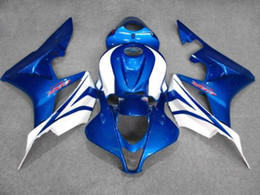 Blanc bleu Kit de carénage moulé par injection POUR CBR600RR F5 2007 2008 CBR 600 RR 07 08 CBR600 600RR