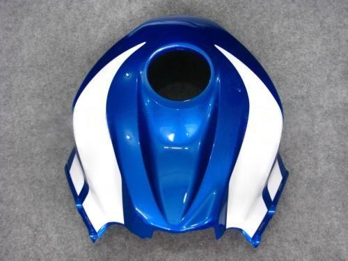 Blue White Injection Moulded Fairing Kit för CBR600RR F5 2007 2008 CBR 600 RR 07 08 CBR600 600RR