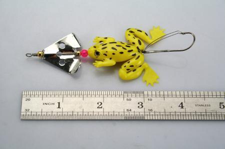 Appâts leurre grenouille pêche sans mauvaises herbes 6.3g s