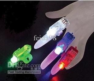 Il regalo luminoso di Natale accende i giocattoli luminosi dei bambini di colore di incandescenza del partito di incandescenza delle luci dell'anello di dito dei regali di Natale il trasporto libero