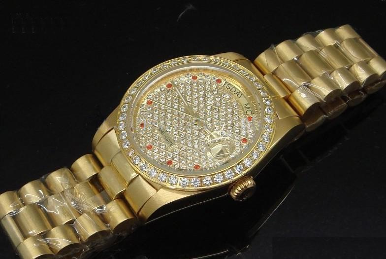 wholesale luxury pearlmaster mens automatic watch 18k gold